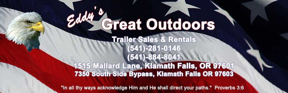 Eddy's Great Outdoors trailer sales and rentals, Klamath Falls OR